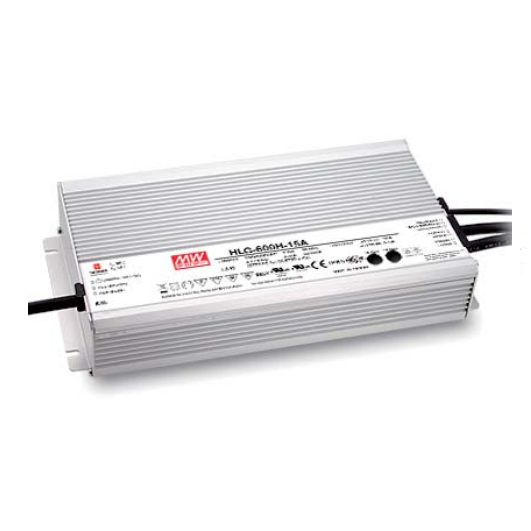 600W Meanwell Power Supply for Led Strips (waterproof)
