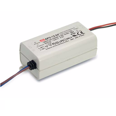 12W Meanwell Power Supply for Led Strips