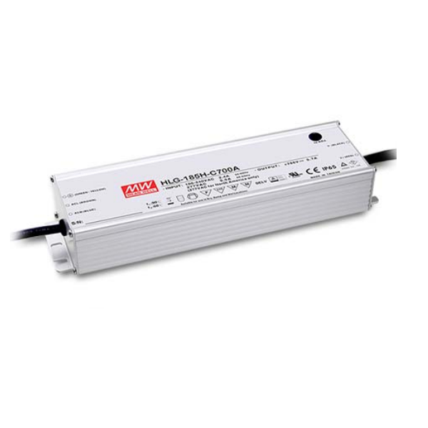 185W Meanwell Power Supply for Led Strips (waterproof)