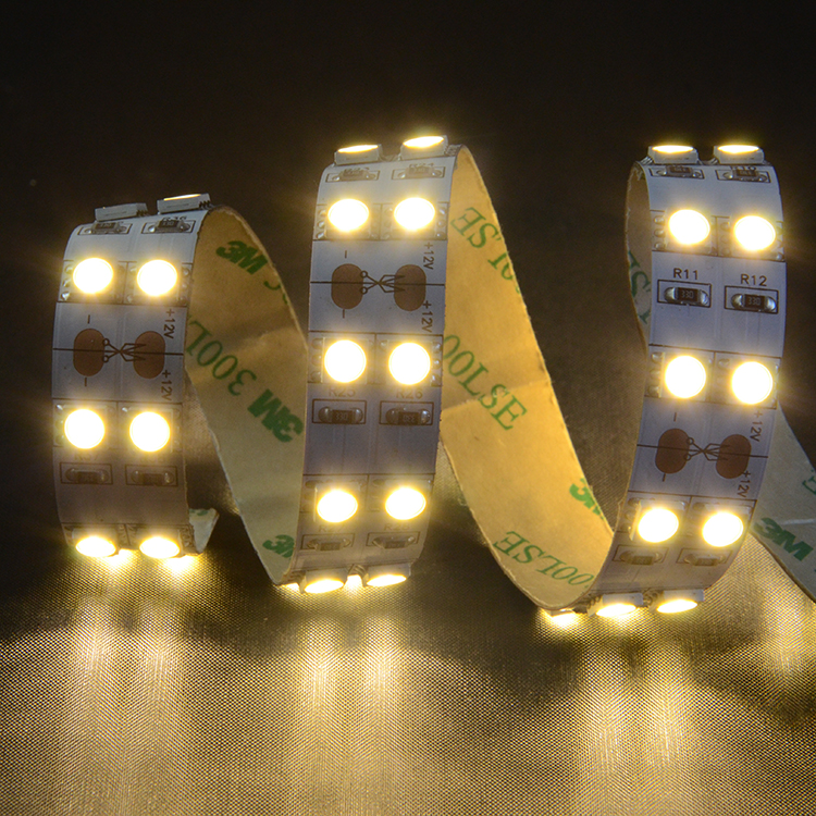 SMD5050 120leds/m DC12V LED strips(IP65 PU glue)
