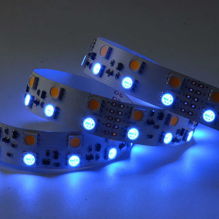 SMD5050 120leds/m RGBW DC24V Constant Current LED strips (Non-waterproof)