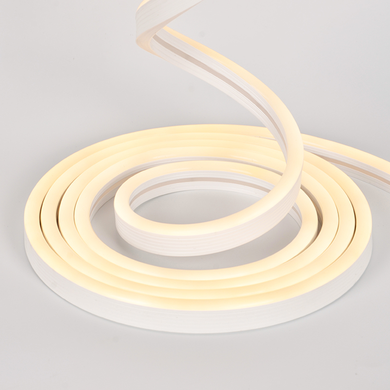 8*17mm Silicone Extrusion Neon Flex Strip SMD2835 120leds/m 10mm