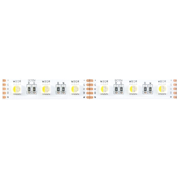 SMD5050 4in1 60leds/m DC12V LED strips(Non-waterproof)