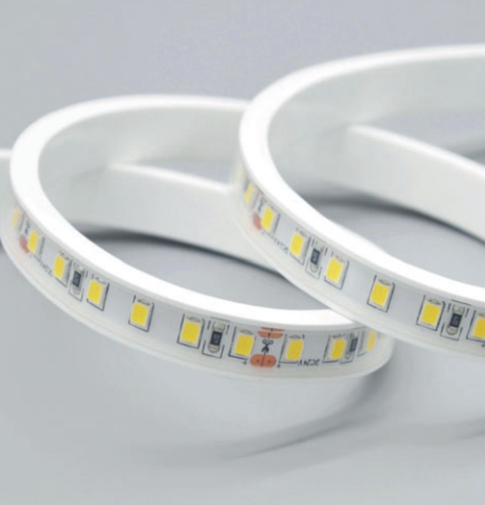 5*11 Silicone Neon Tube Flex Strip SMD2835 120leds/m 8mm